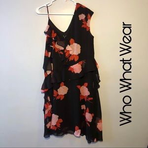 Who What Wear Floral Dress Size Large